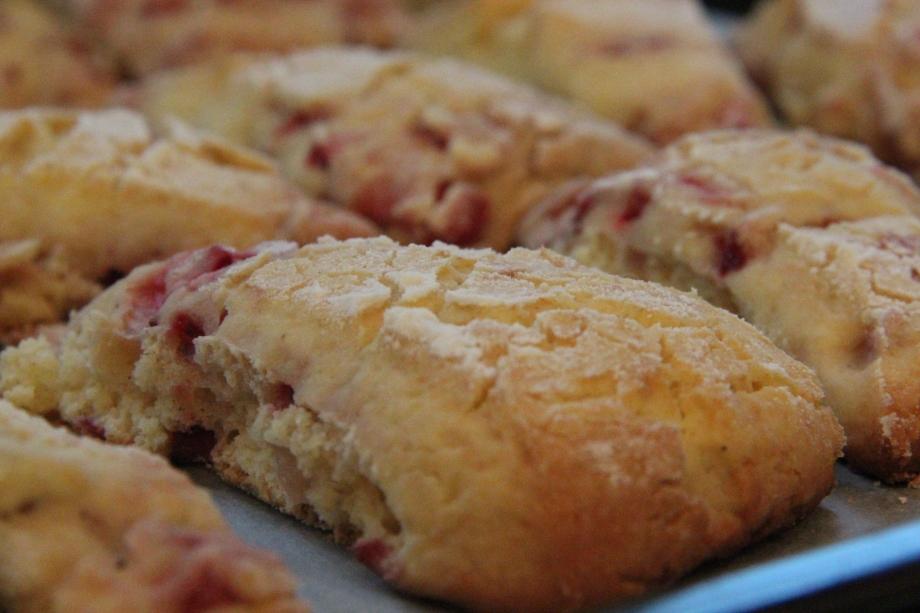 Gluten Free StrawberryScones
