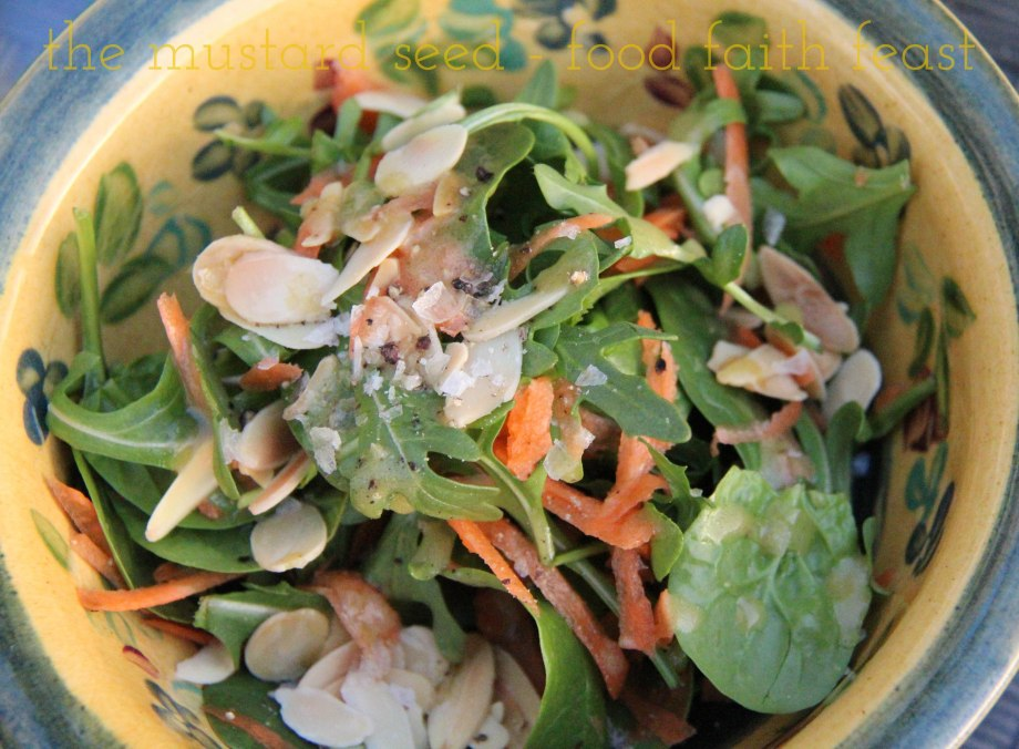 Spinach and Arugula Salad