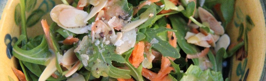 Spinach and ArugulaSalad