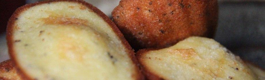 Lemon Poppy Madeleines