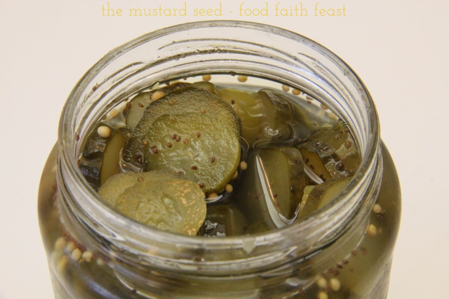 Easy Homemade Sweet Pickles