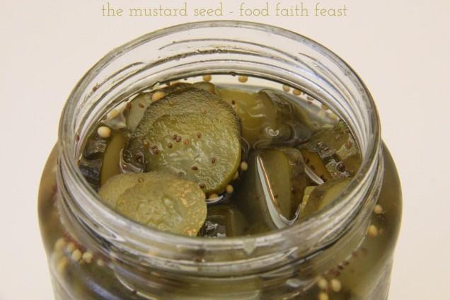 Easy Homemade Sweet Pickles
