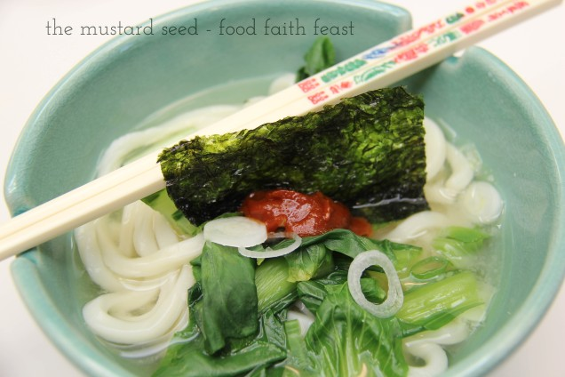 Easy Udon Noodles
