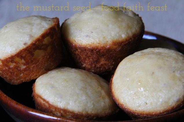 Gluten Free Kefir Lemon Chia Muffins