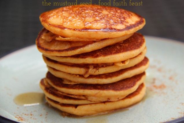 Sweet Potato Pankcakes