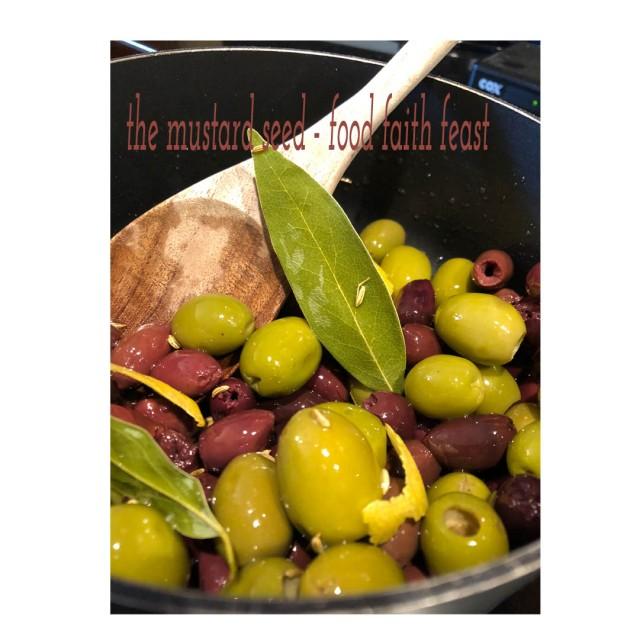 Warmed Olives