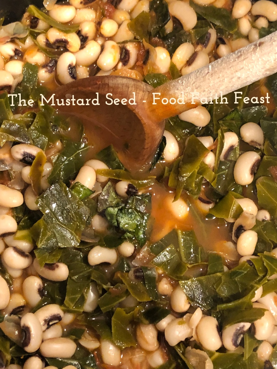 Black Eyed Peas and Collards