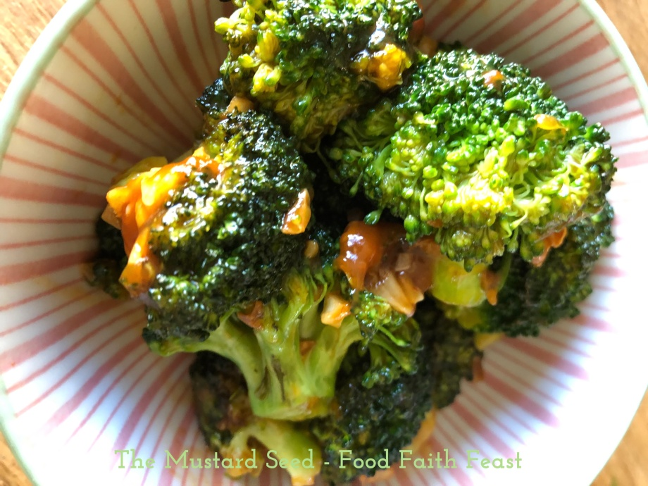 Healthy General Tso's Broccoli